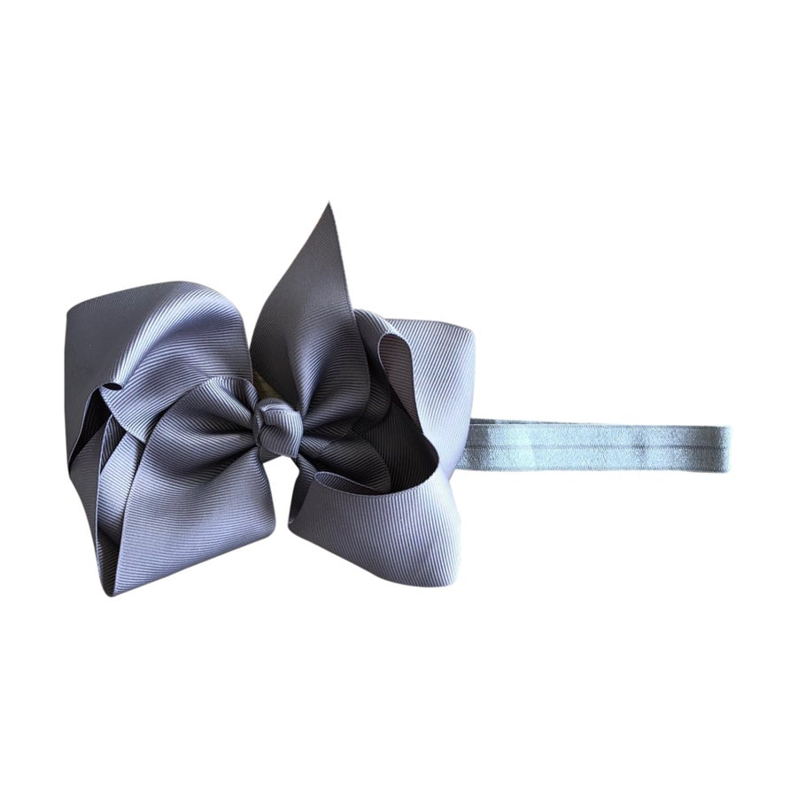 Image of Storm Big Bow Baby Headband