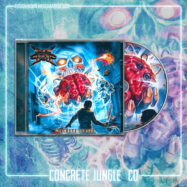 "Image of CD ""Concrete Jungle"" (Album 2019)"