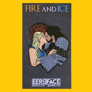 Image of Fire and Ice, Limited Edition pin