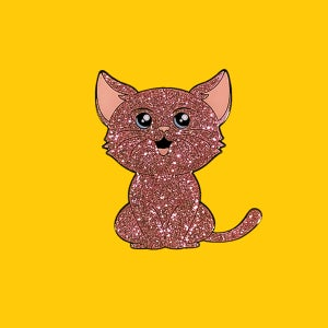 Image of Sparkle Cat- Charity Fundraiser pin
