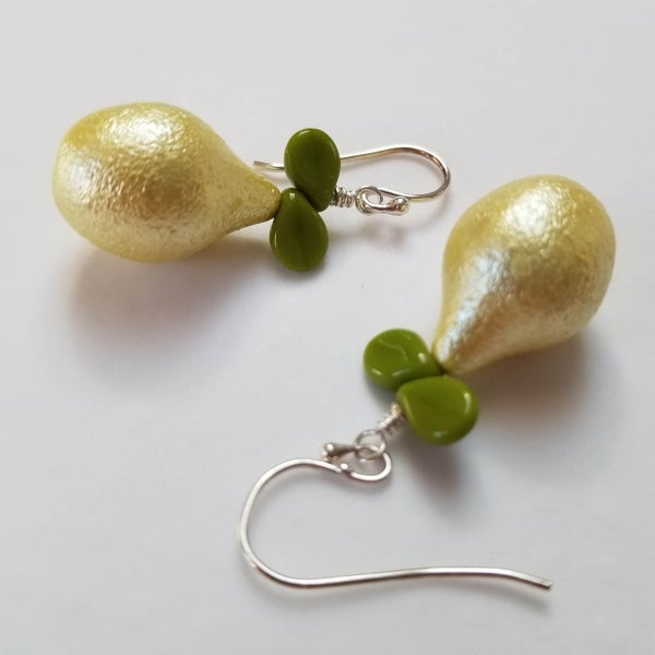 Image of Pretty Pear Earrings