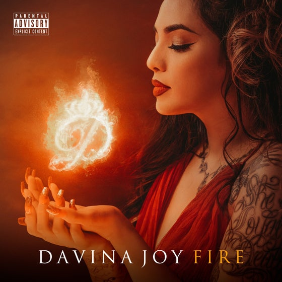 "Image of ""FIRE"" Davina Joy *New Album (Album #7) IN STOCK NOW!!!!"