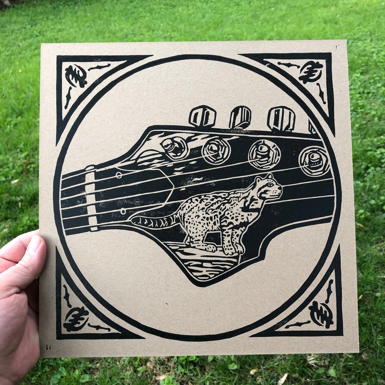 Image of Ocelot print