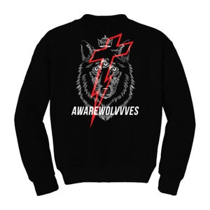 Image of WOLVVVES ARE HERE CREWNECK | EXCLUSIVE RELEASE