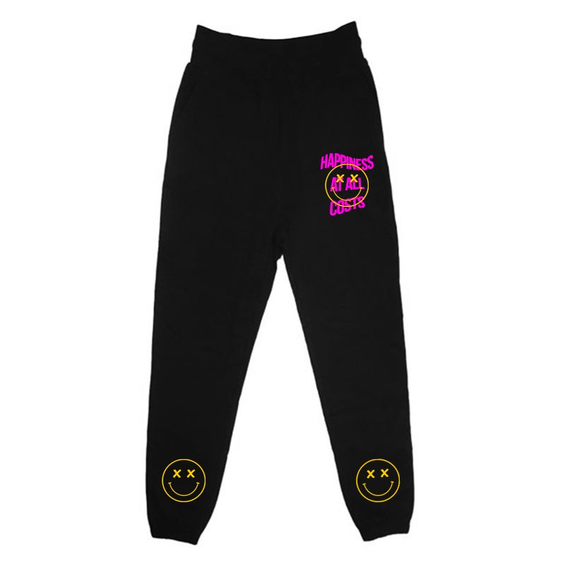 Image of HAPPINESS AT ALL COSTS JOGGERS | EXCLUSIVE RELEASE