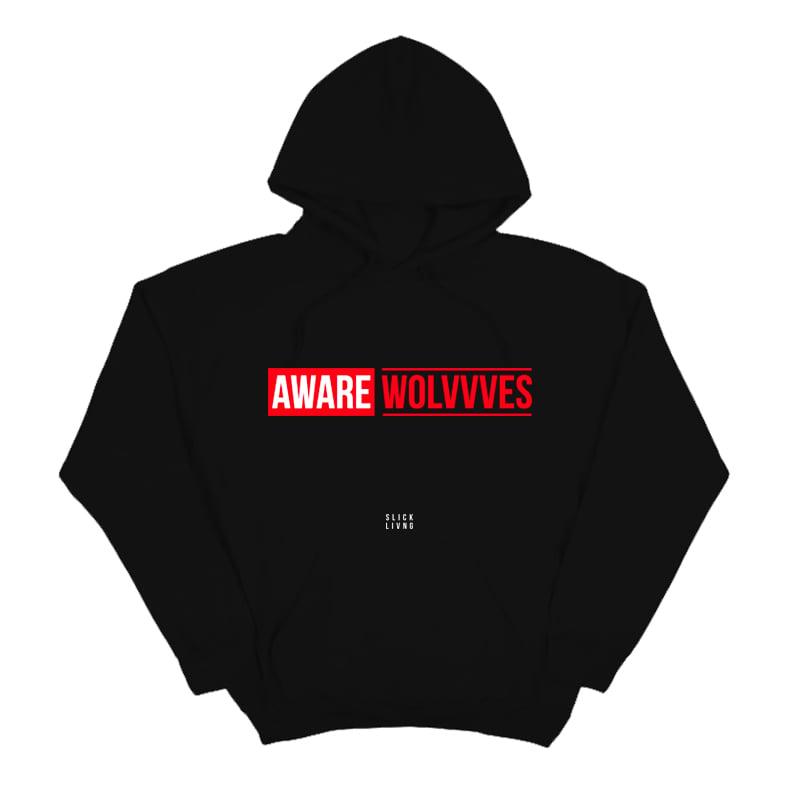 Image of AWAREWOLVVVES REVEAL HOODIE   EXCLUSIVE RELEASE