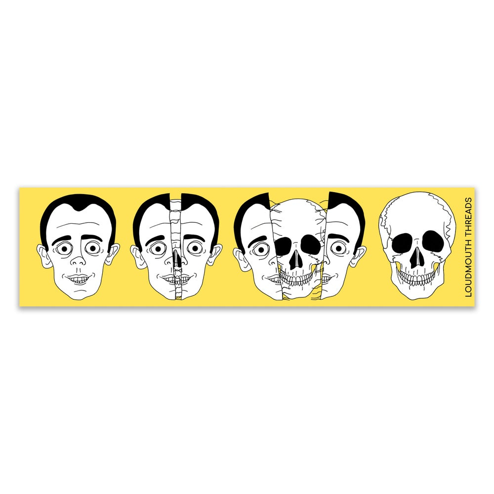 Image of Headache bumper sticker