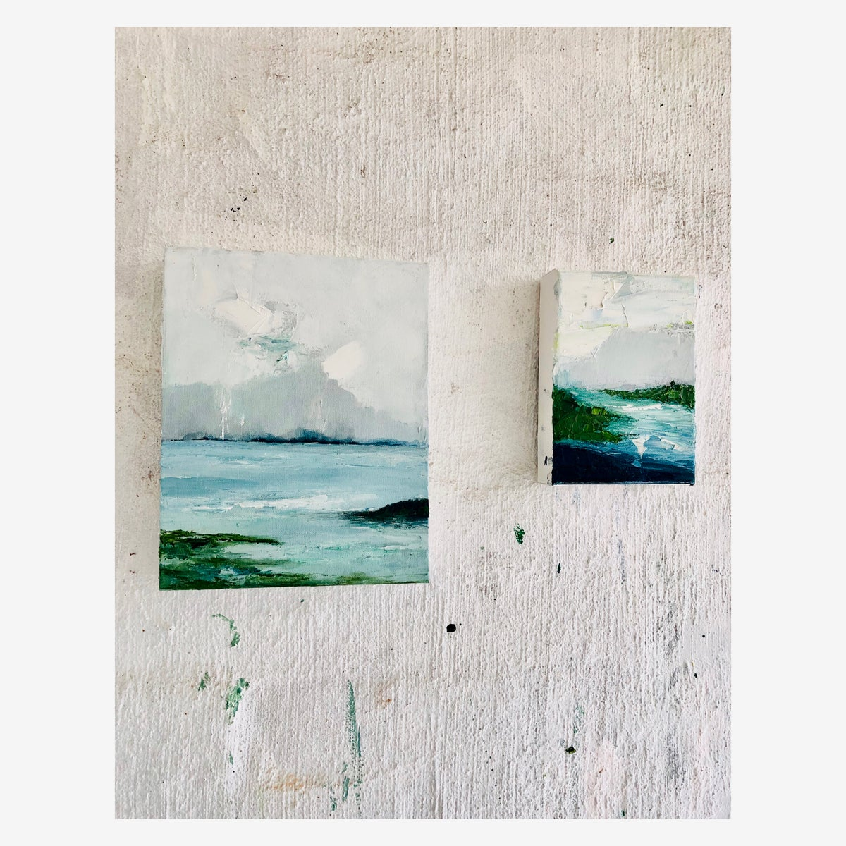 Image of Original 'Across the Bay' 2019 Oil on canvas