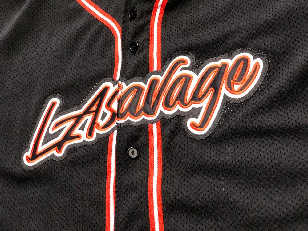 Image of LASAVAGE BASEBALL JERSEY