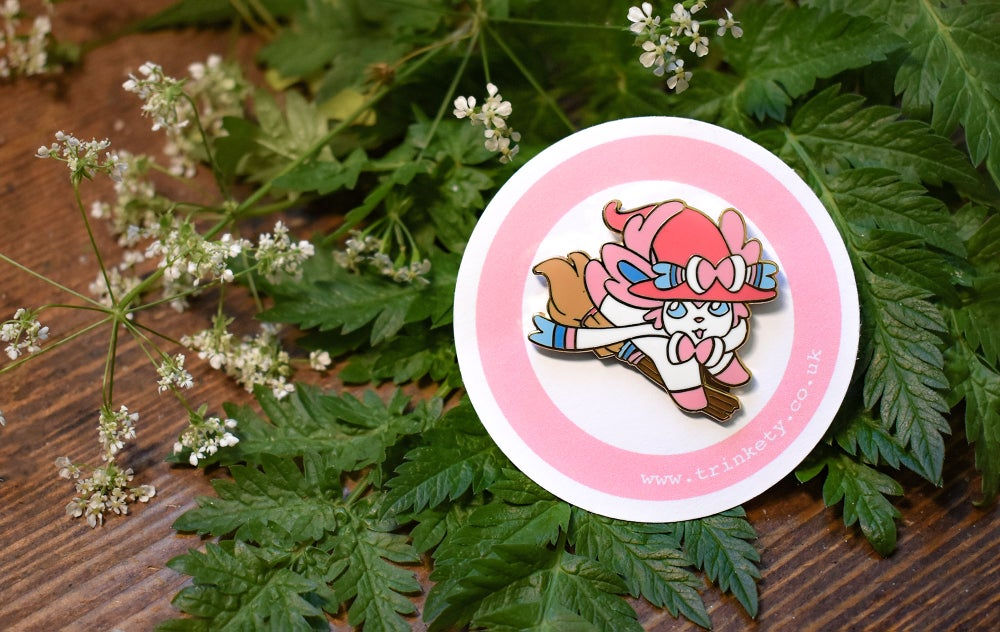 Image of Witch Sylveon - Pin Badge