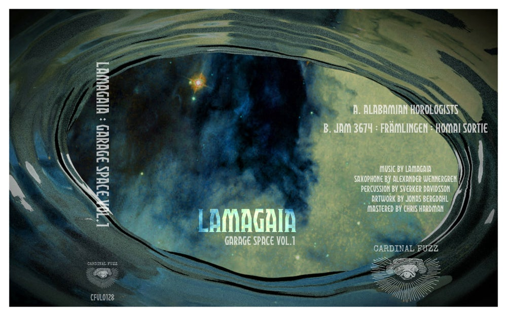 Image of Lamagaia - Garage Space Vol.1 (CDr)  CARDINAL FUZZ 2 LEFT