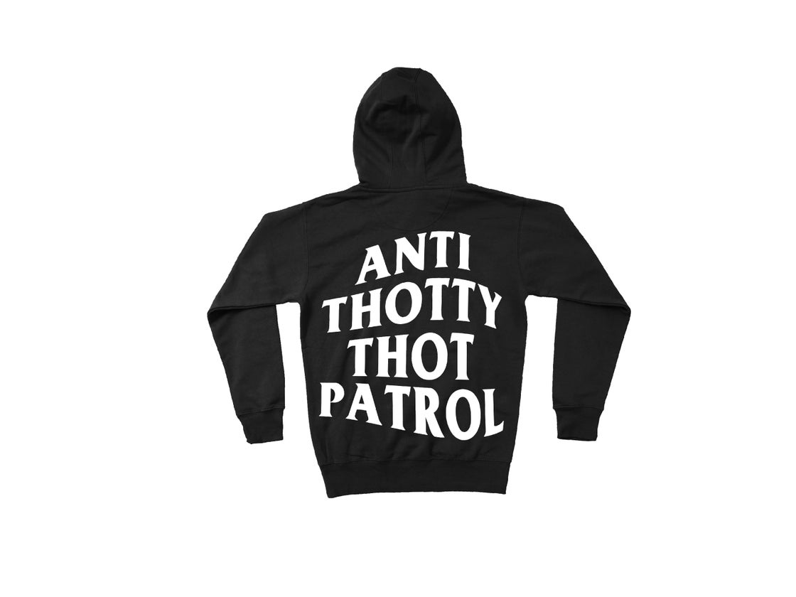 Image of NAKIMUSHI ANTI THOTTY HOODIE