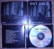"""Image of OUT COLD """"Living Is Killing Me"""" CD"""