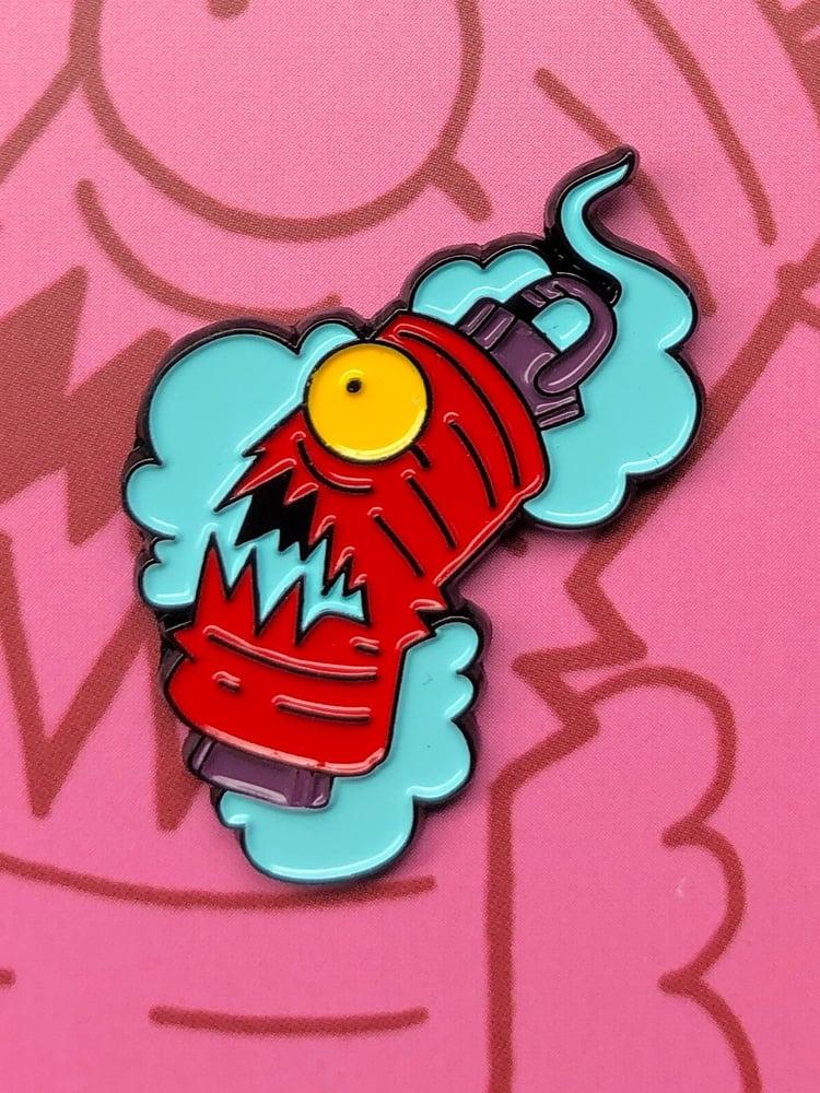 Image of Yokai Enamel Pin - Chochin Obake