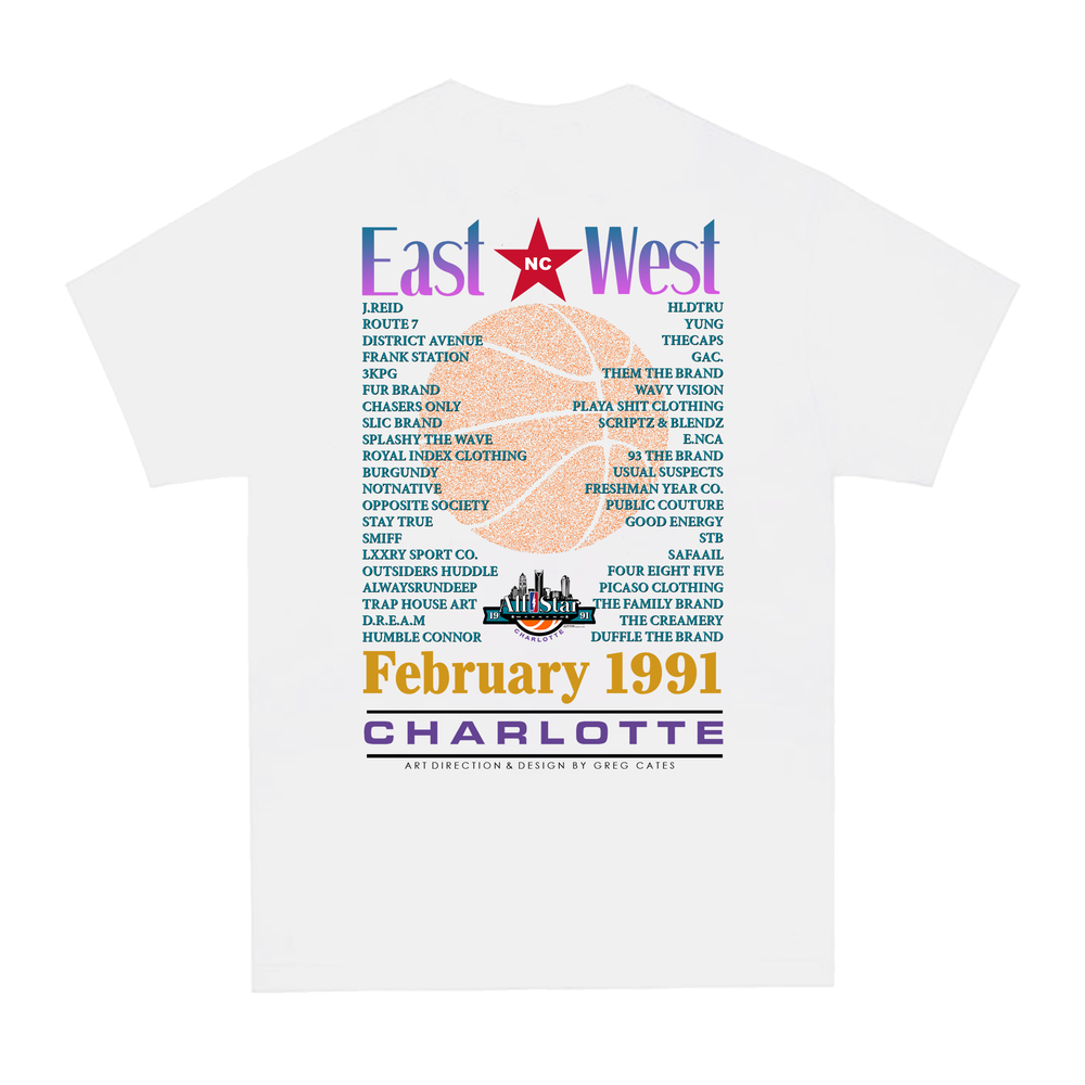 Image of 1991 GAC. All Star Weekend Tee (White)