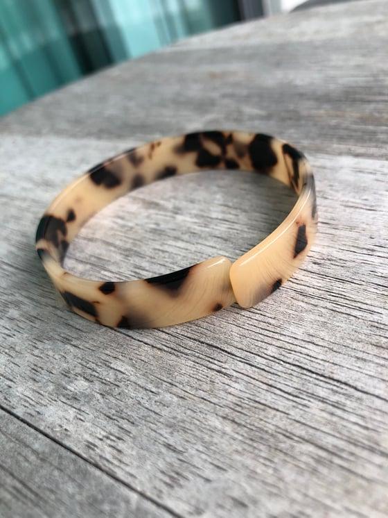 Image of Tortoise cuff bracelet
