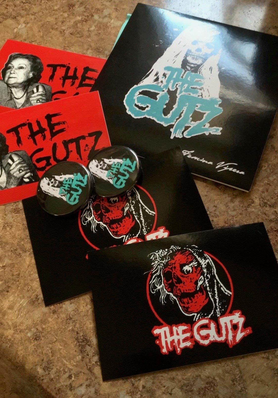 Image of The Gutz- Femina Vipera EP (CD) + fun goodies