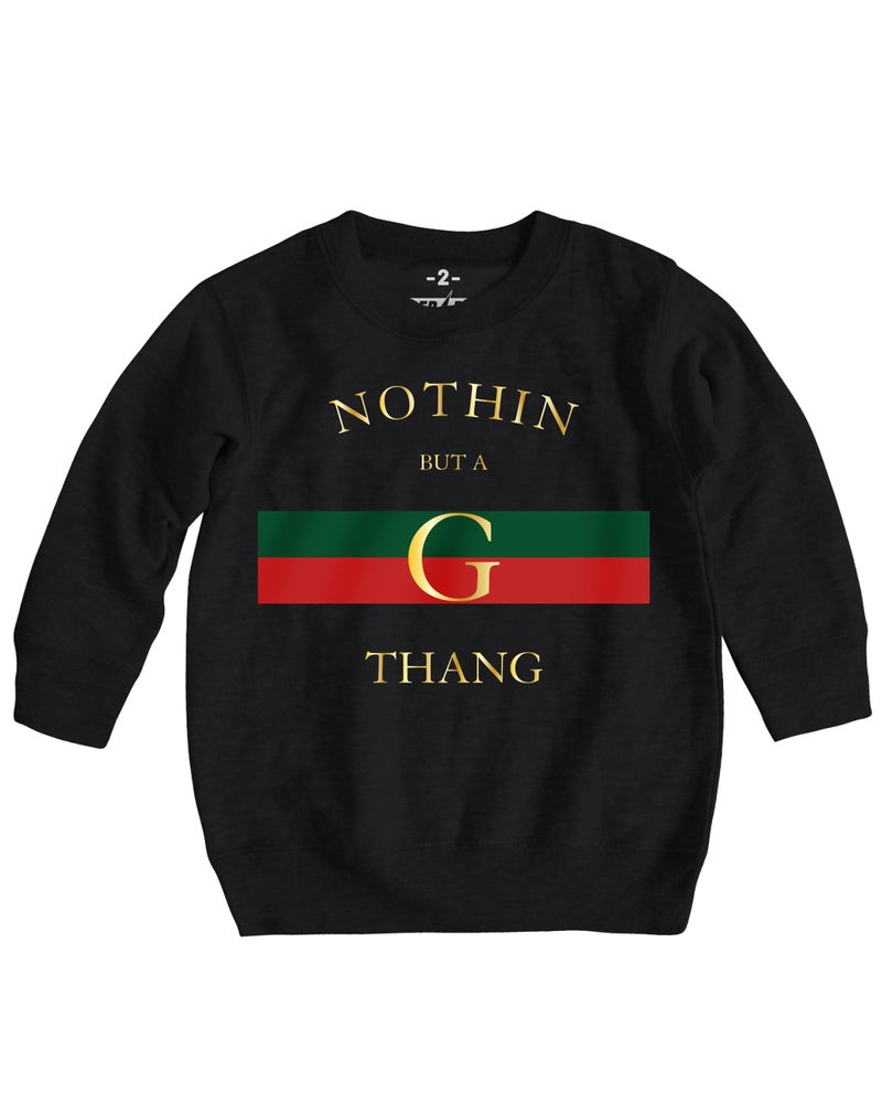 Image of G-THANG CREWNECK SWEATER