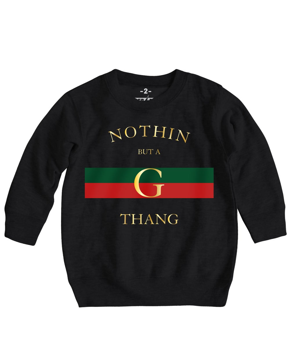 G-THANG CREWNECK SWEATER