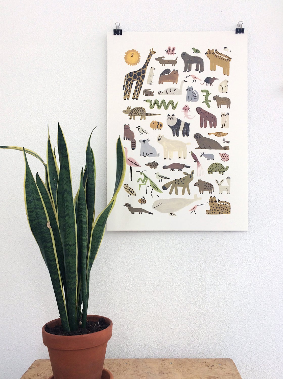 Image of Dorky Animals   Poster