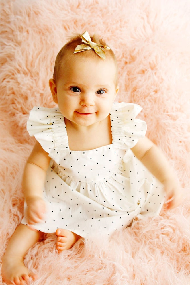 Image of the EASY BABY DRESS pattern