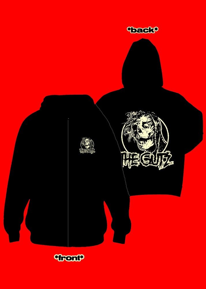 "Image of The Gutz ""Creepshow"" Zip-Up Hoodie"
