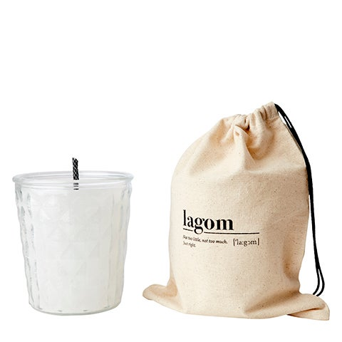 Image of OUTDOOR CANDLE IN CANVAS BAG