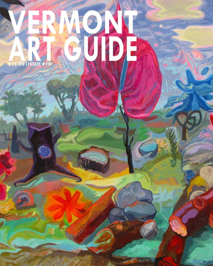 Image of CURRENT ISSUE: Vermont Art Guide #10