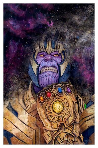 Image of Thanos -- Regular Edition