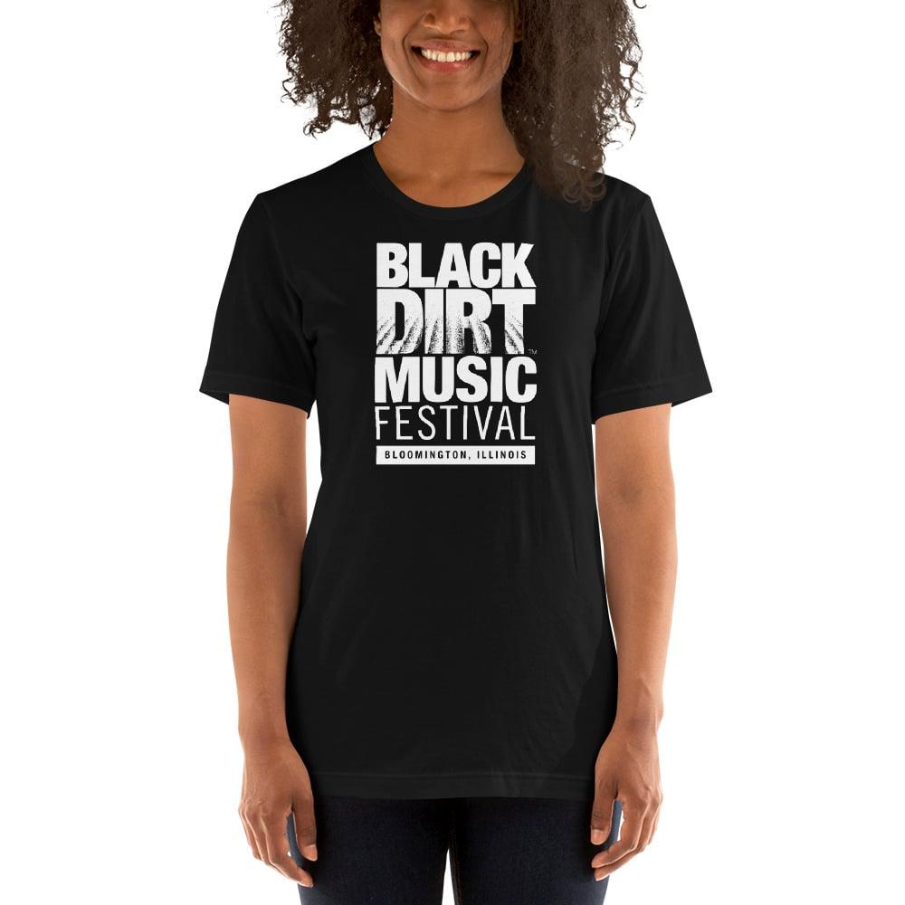 Image of Black Dirt Music Festival Shirt (Unisex- Black)