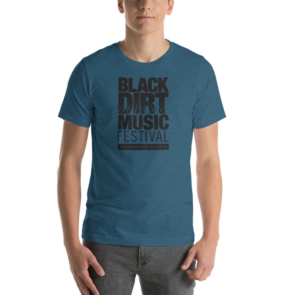 Image of Black Dirt Music Festival Shirt (Unisex- Teal)