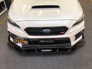 "Image of 2015+ Subaru WRX/ STi ""V5"" front splitter"