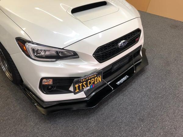 "Image of 2015-2020 Subaru WRX/ STi ""V5"" front splitter"
