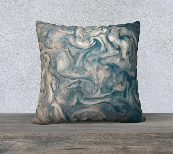 Image of Jupiter South Pole Cushion cover