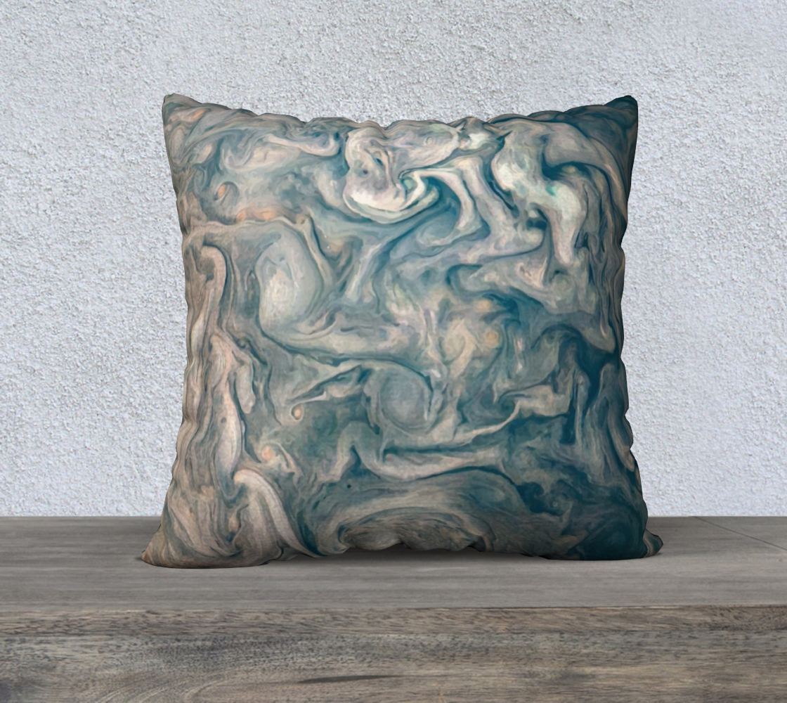Image of Jupiter South Pole Cushion cover