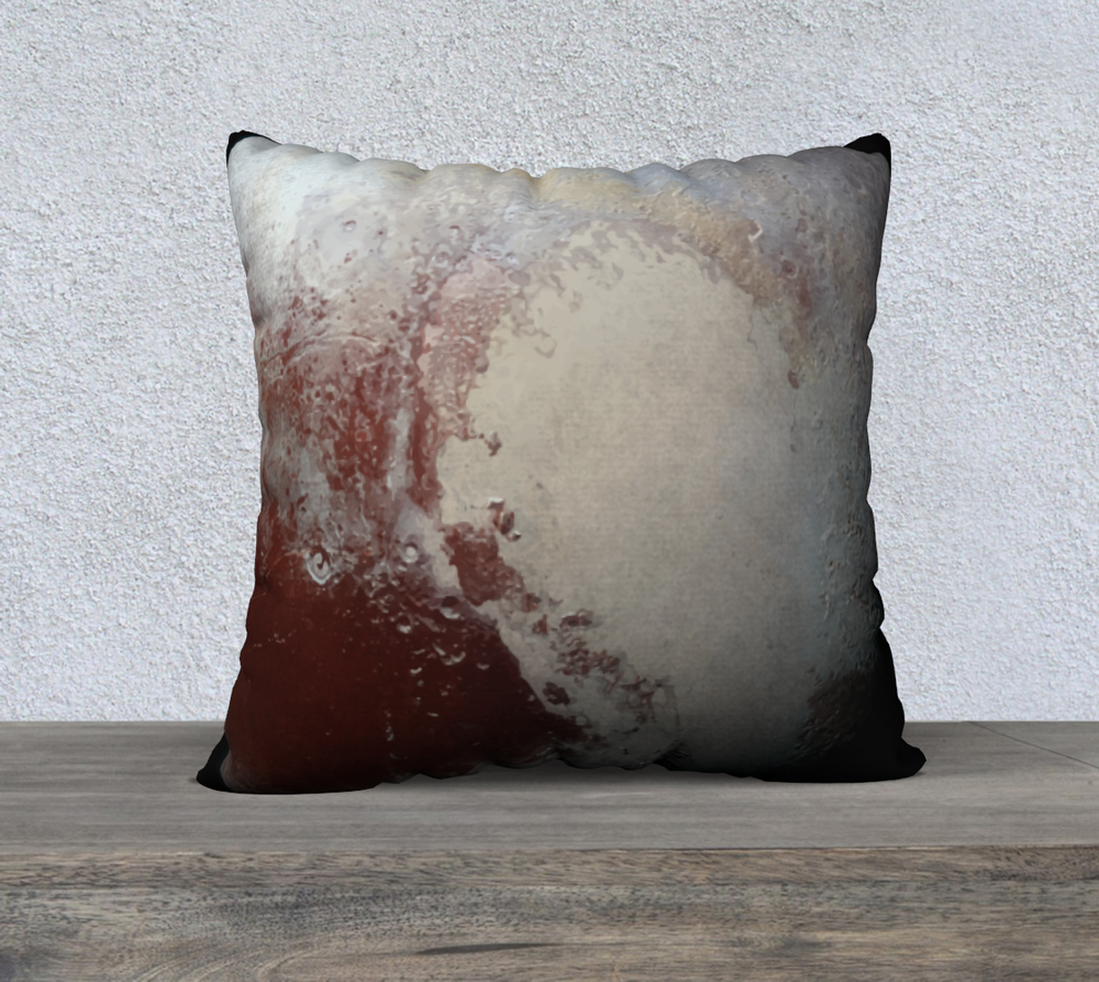 Image of Pluto's Heart Cushion Cover