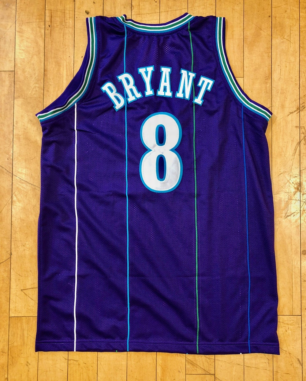 "Image of #8 ""Draft"" Day Kobe Bryant Charlotte Hornets custom"