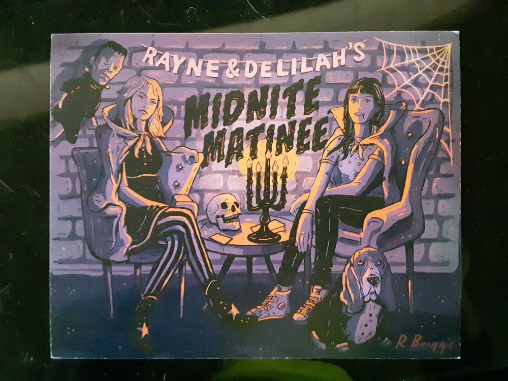 Image of Midnite Matinee hardcover book autographed