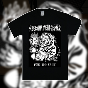 Image of Siberian Meat Grinder - For the Cult, Black Tee