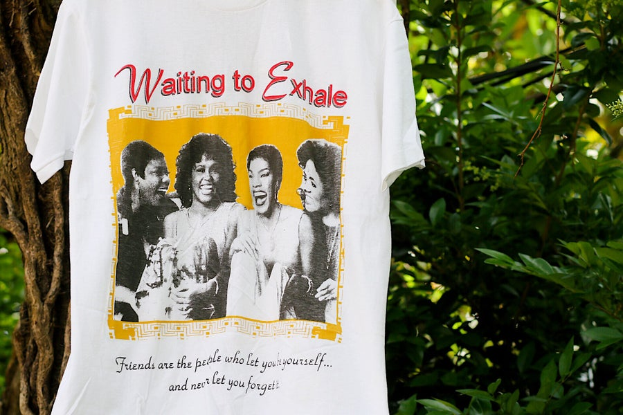 "Image of Rare 1995 Vintage ""WAITING TO EXHALE"" Deadstock Single-Stitched Rap Tee"