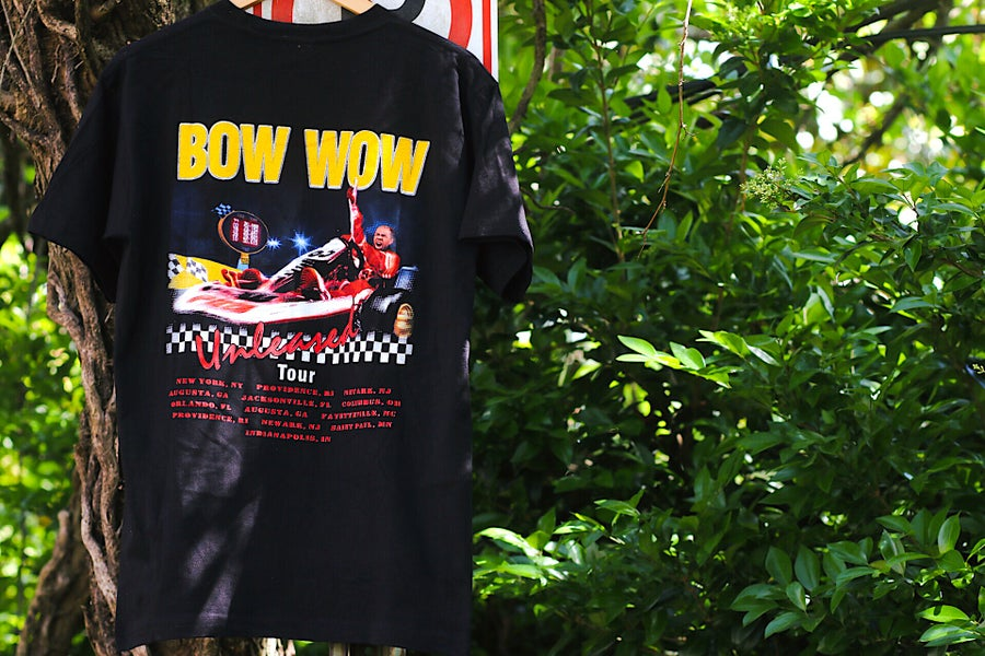 "Image of 2003 ""BOW WOW - UNLEASHED Tour"" Promo Rap Tee"