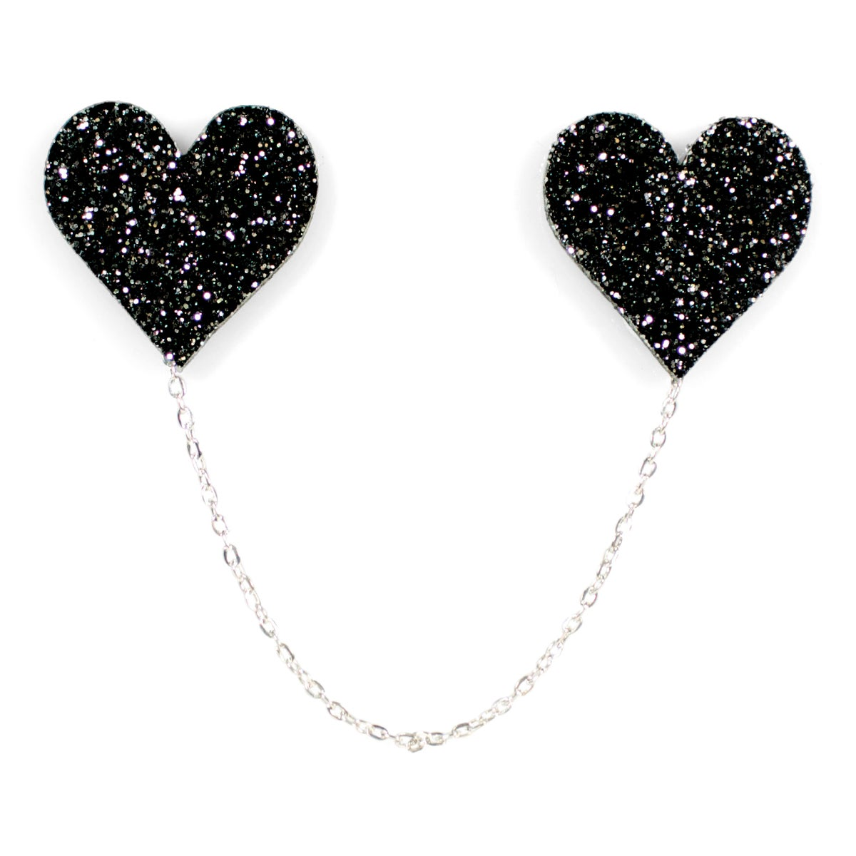 Image of Heart Collar Pins
