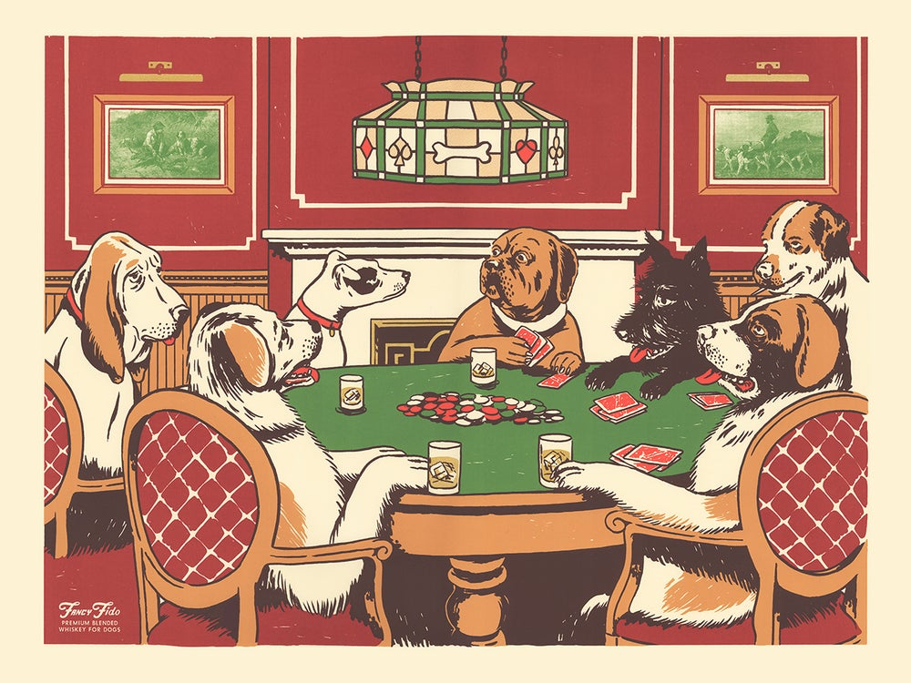 Image of Poker Night Art Print