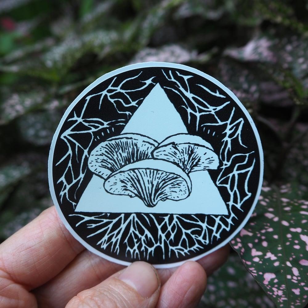 Image of Oyster Mushroom Vinyl Sticker