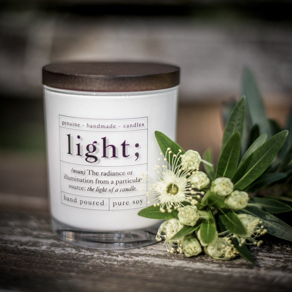 Image of Aromatherapy Soy Candle - Relieve