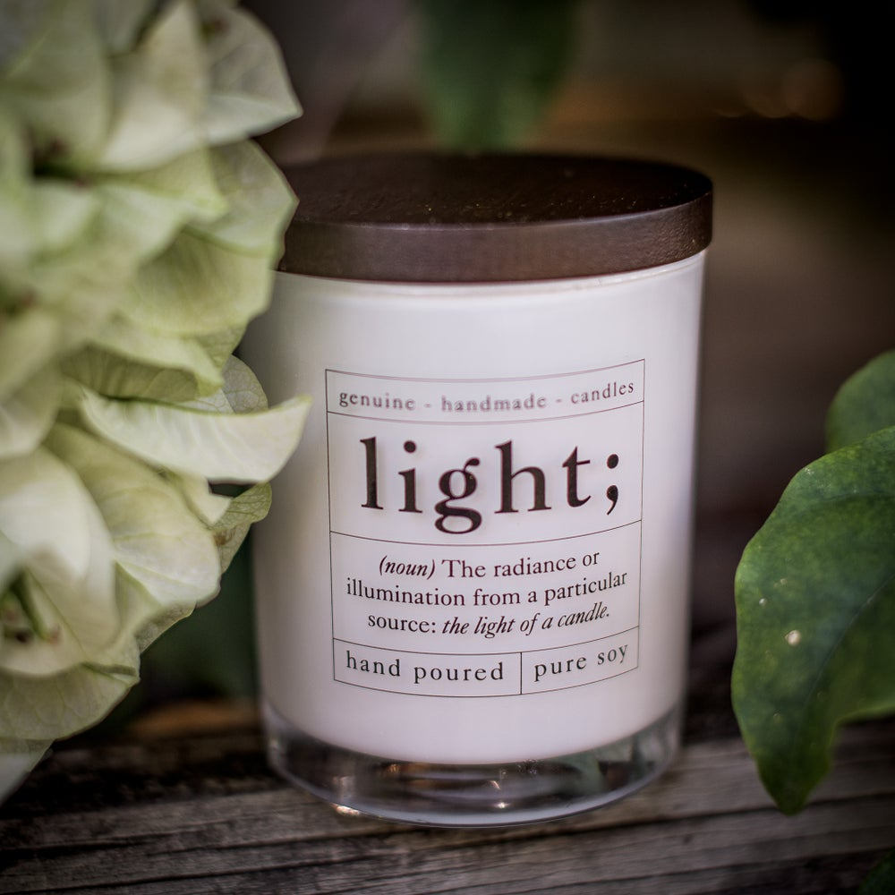 Image of Aromatherapy Soy Candle - Relax