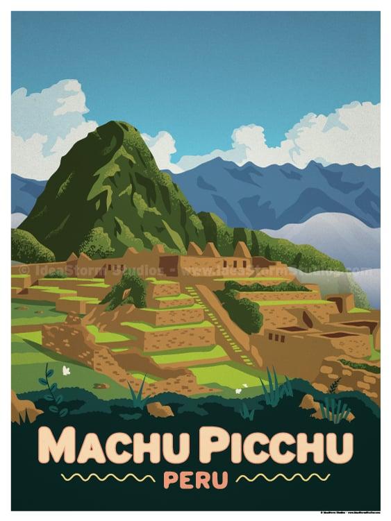 Image of Machu Picchu Poster