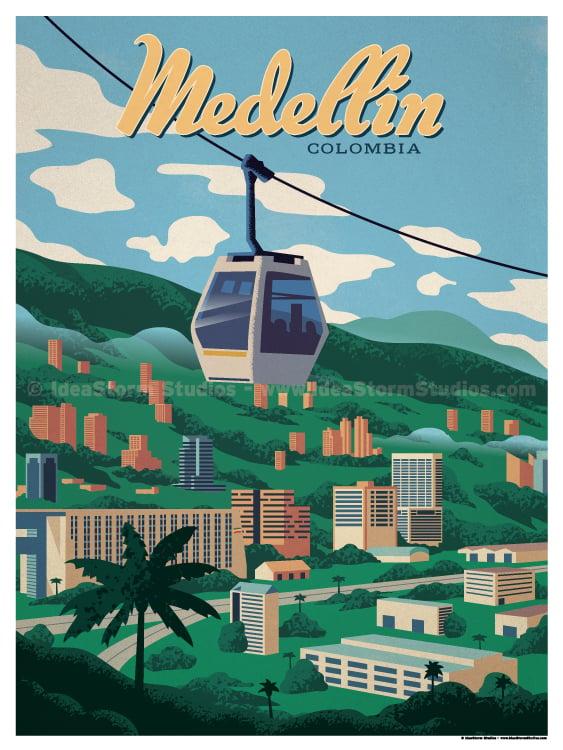 Image of Medellin Poster