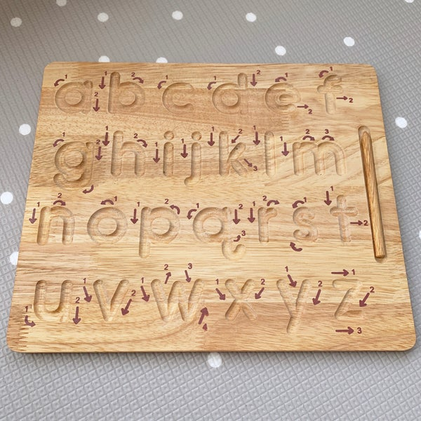 Image of Lowercase Alphabet Tracing Board