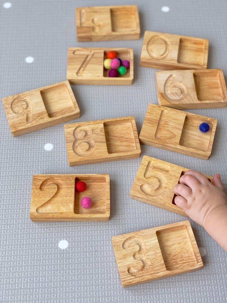 Image of Number Tracing and Counting Boards
